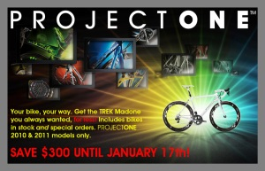 project one bikes are on sale